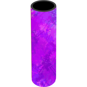 Purple Splash Icy Pole Holder - Carlie Rees Custom Designs