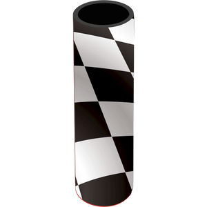 Race Day Icy Pole Holder - Carlie Rees Custom Designs