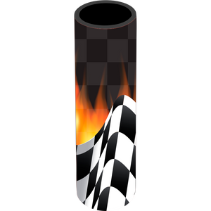 Racing Icy Pole Holder - Carlie Rees Custom Designs