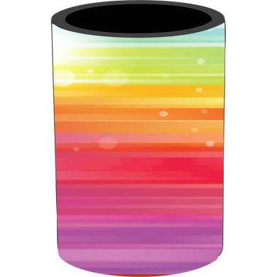 Rainbow Stubby Holder - Carlie Rees Custom Designs