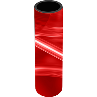 Red Swirl Icy Pole Holder - Carlie Rees Custom Designs