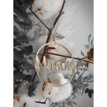 Load image into Gallery viewer, Rose Gold Mirror Christmas Ornament - Carlie Rees Custom Designs