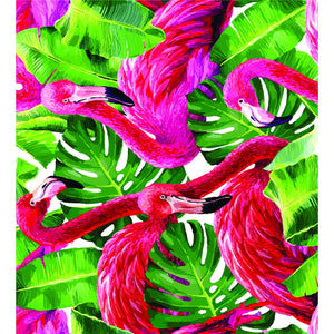 Tropical Flamingo Icy Pole Holder - Carlie Rees Custom Designs