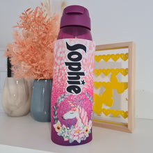 Load image into Gallery viewer, Unicorn Waterbottle Cover (Suits 750ml) - Carlie Rees Custom Designs