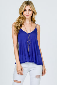 Swing Layering Cami - Multiple Colors