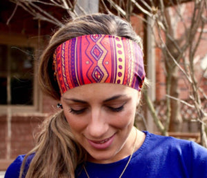 Tribal Tapered Headband