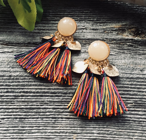Autumn Tassel Earrings
