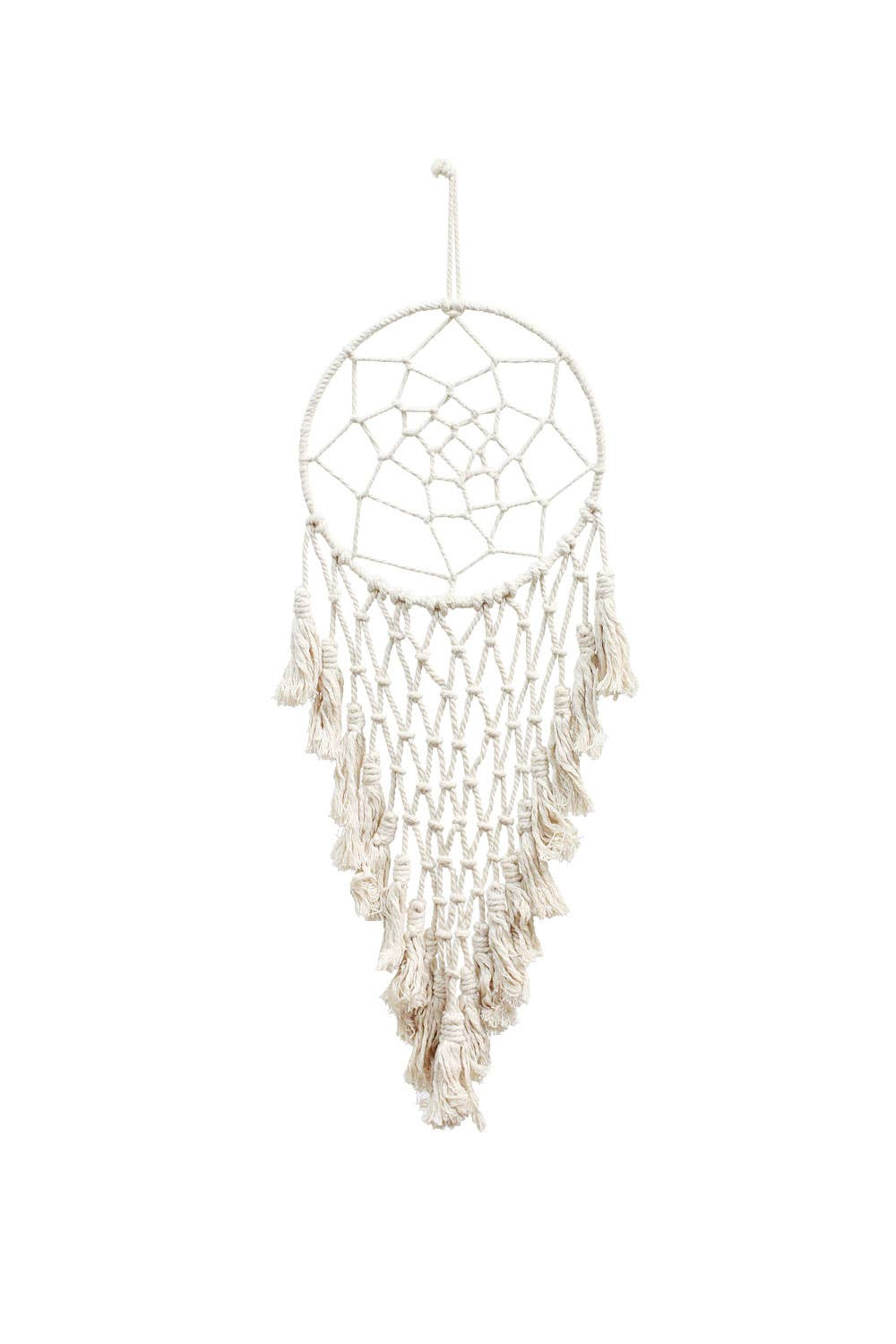 Soul of the Party - Macrame Dreamcatcher with Tassels