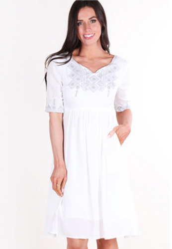 Abagail Embroidered Dress
