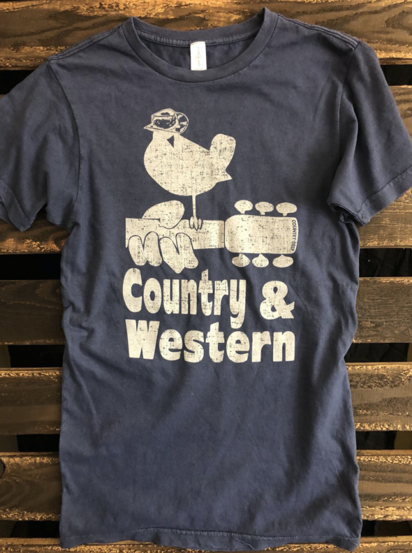 Country Western Washed Tee