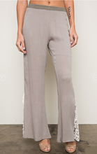 Lace Trim Bell Bottoms