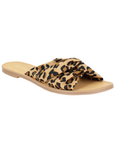 Leopard Slide Shoe