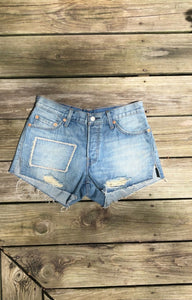 "All patched up Short (30"")"