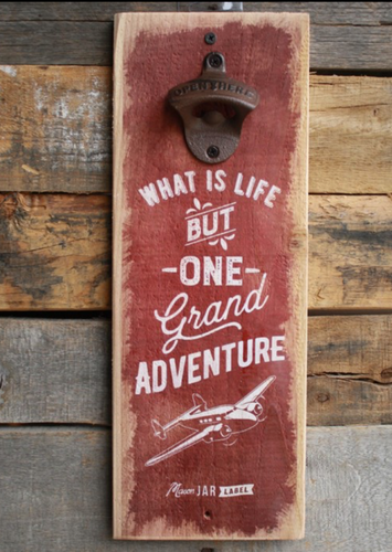 Adventure Wall Bottle Opener