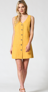 Must Have Button Up Linen Dress