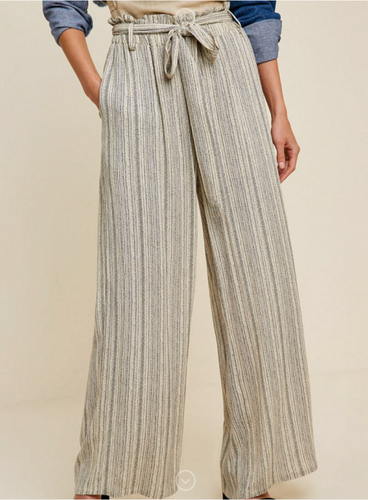 Belted Tribal Pant