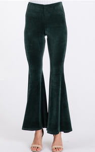 Velour Flare (Available in Emerald and Deep Red)