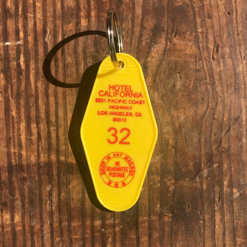 Motel Key Fob - Hotel California