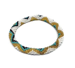 Seed Glass Beads Bracelet - Aztec