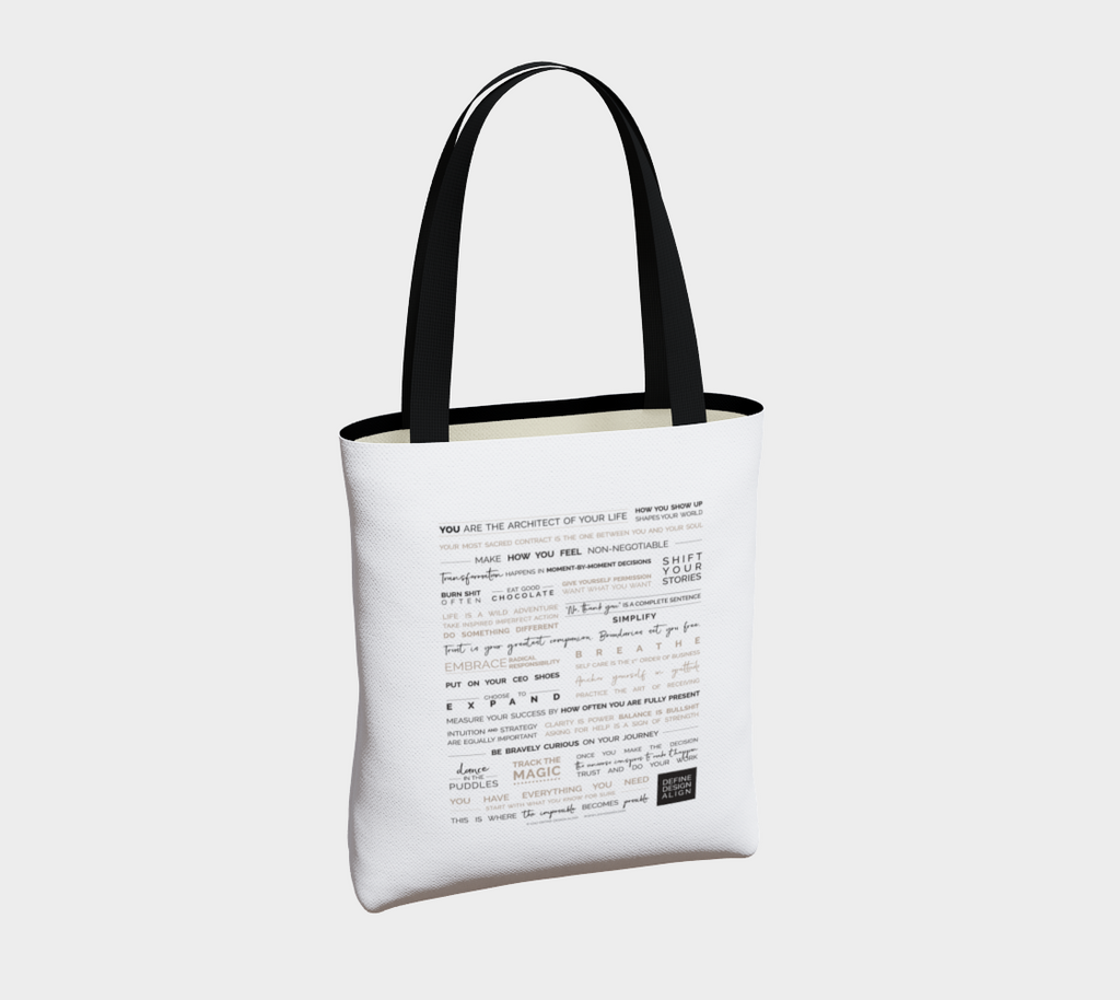 DDA Do Something Different Tote (Unlined)