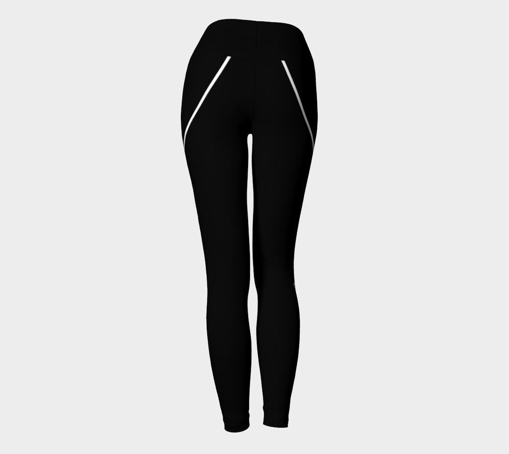 """Do Something Different"" Signature Leggings *Black*"