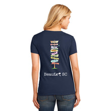 Load image into Gallery viewer, Beaufort Signpost T-Shirt - Women's V-Neck