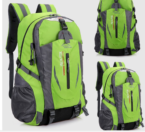 d9b15475eb35 40L Waterproof Durable Outdoor Climbing Backpack Hiking Athletic Sport    Travel Sports Bag High Quality Performance