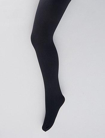 Pack of 2 pairs of fine opaque tights