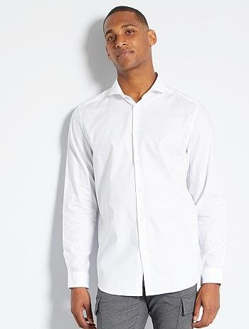 Oxford cotton regular-fit shirt