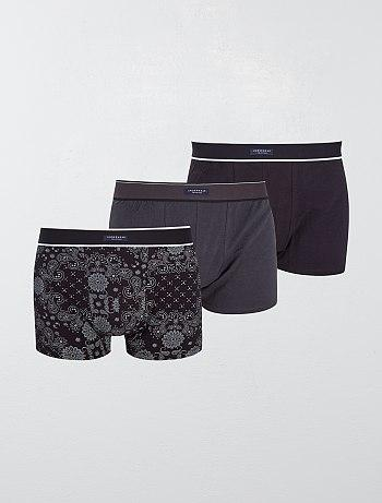Pack of 3 stylish boxer shorts