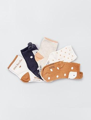 Pack of 5 pairs of eco-design socks