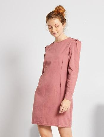 Short Twill Dress