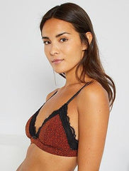 Triangle Bra With Removable Moulded Cups