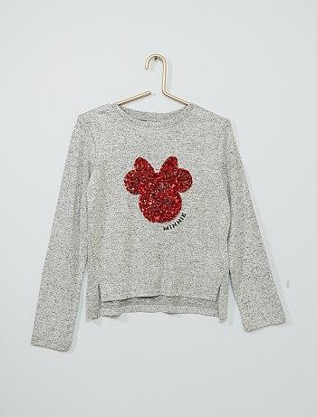 Minnie Mouse sequined sweater