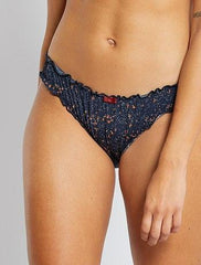 Printed Bloomer-Style Briefs