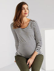 Eco-design maternity T-shirt