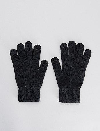 Pack Of 2 Pairs Of Tactile Gloves