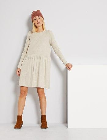 Short Soft Knit Dress