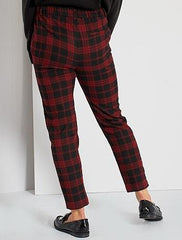 Straight-Leg Smart Trousers
