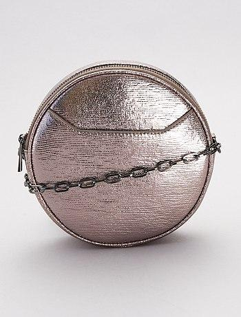Shimmery Round Bag
