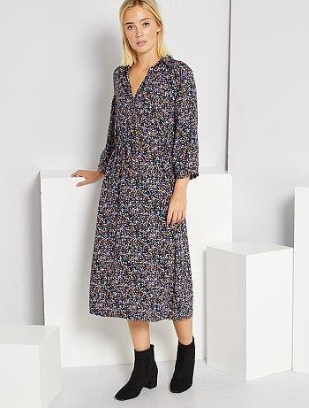 Long shirt-style dress