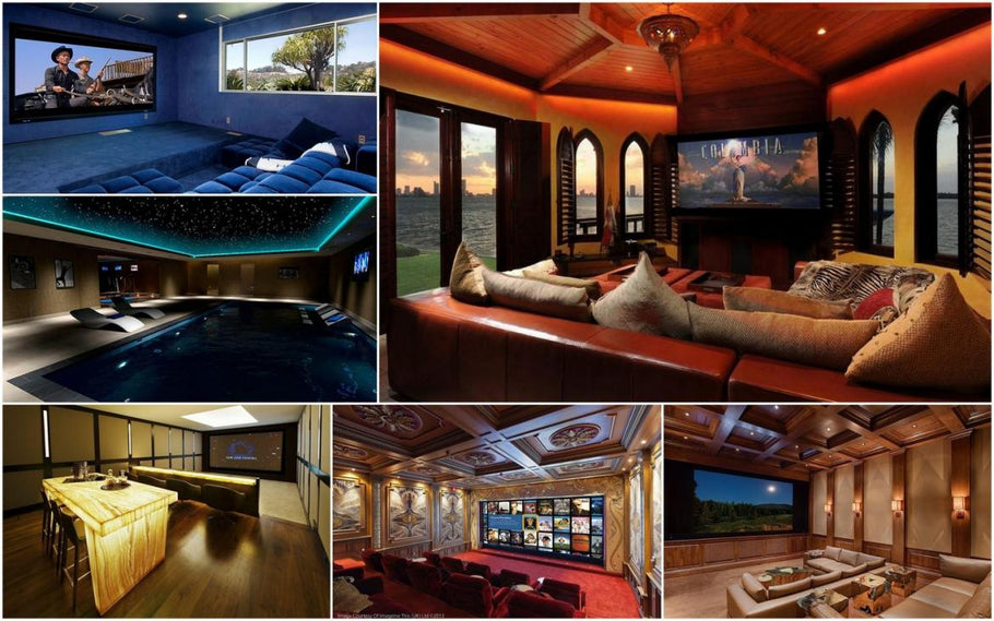 Hottest Celeb Home Theatres