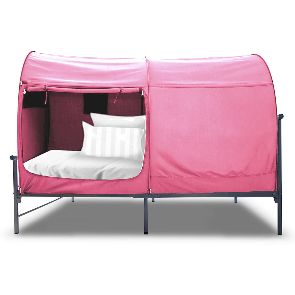 Pink Bed Tent Twin/Full (Mattress Not Included) - Alvantor