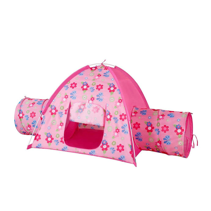 Floral bird Garden Tent and 2 Tunnel Combo