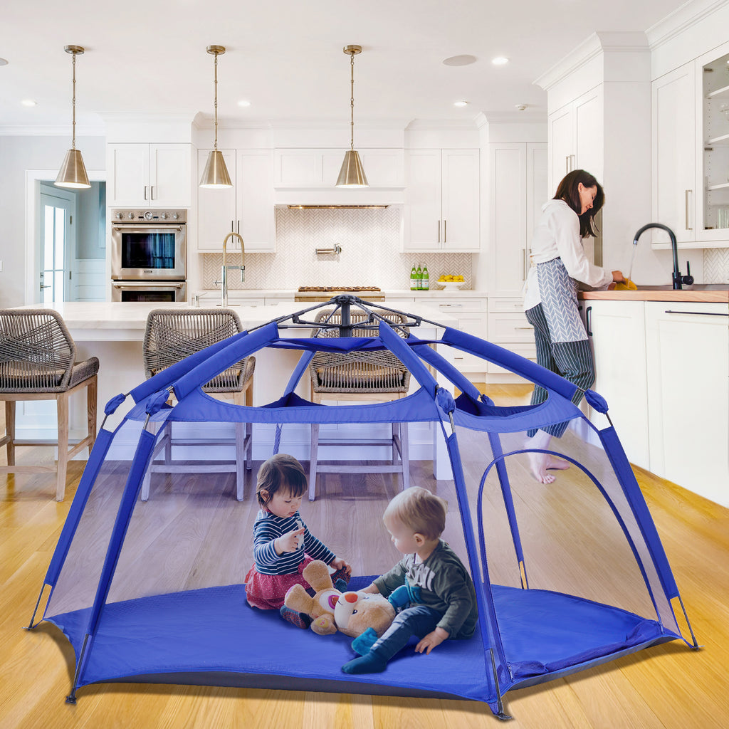 Spacious Padded Playpen
