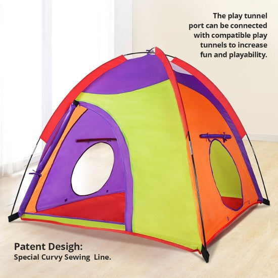 Colourful Curvy Kids tent