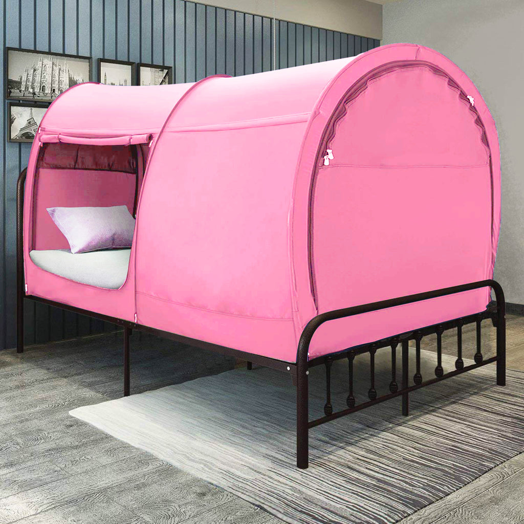 Charcoal Twin Size Bed Tent