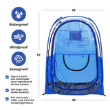 Weather-Proof Sports Pod Pop-up Tent