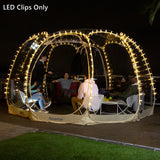 Alvantor String Lights LED Clip Outdoor Indoor Decoration For Screen House & Bubble Tent