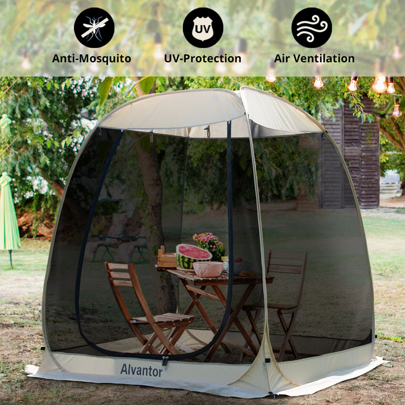 Alvantor 6'x6' Pop Up Screen House